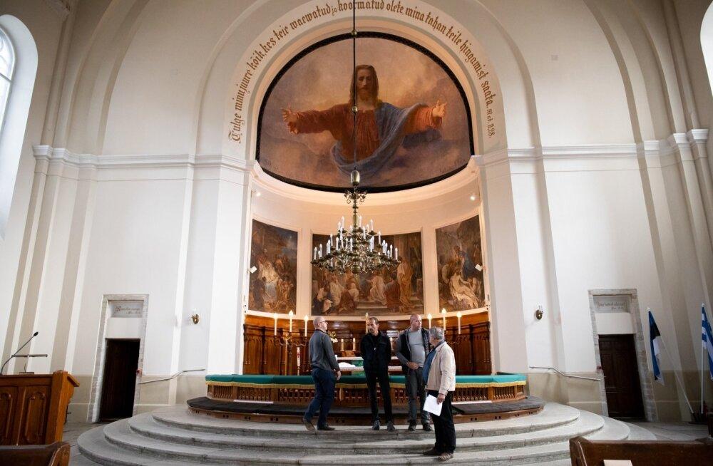Koosolek Kaarli kirikus paavsti visiidi ettevalmistamiseks