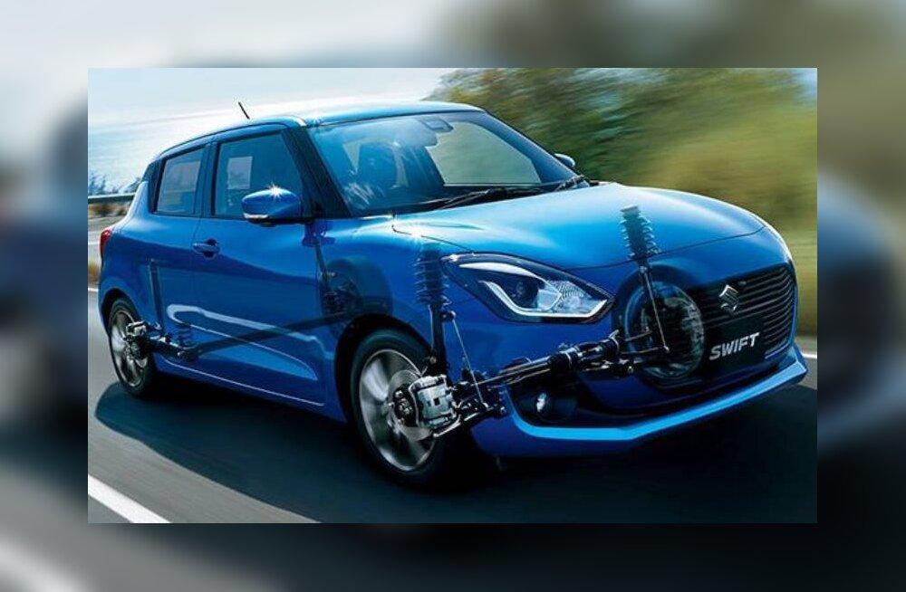 Suzuki Swift hübriid – keskkonnasäästlik, ent jätkuvalt sõidurõõmus