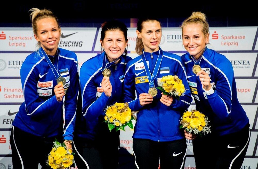Eesti epeenaiskond võitis MMil kuldmedali