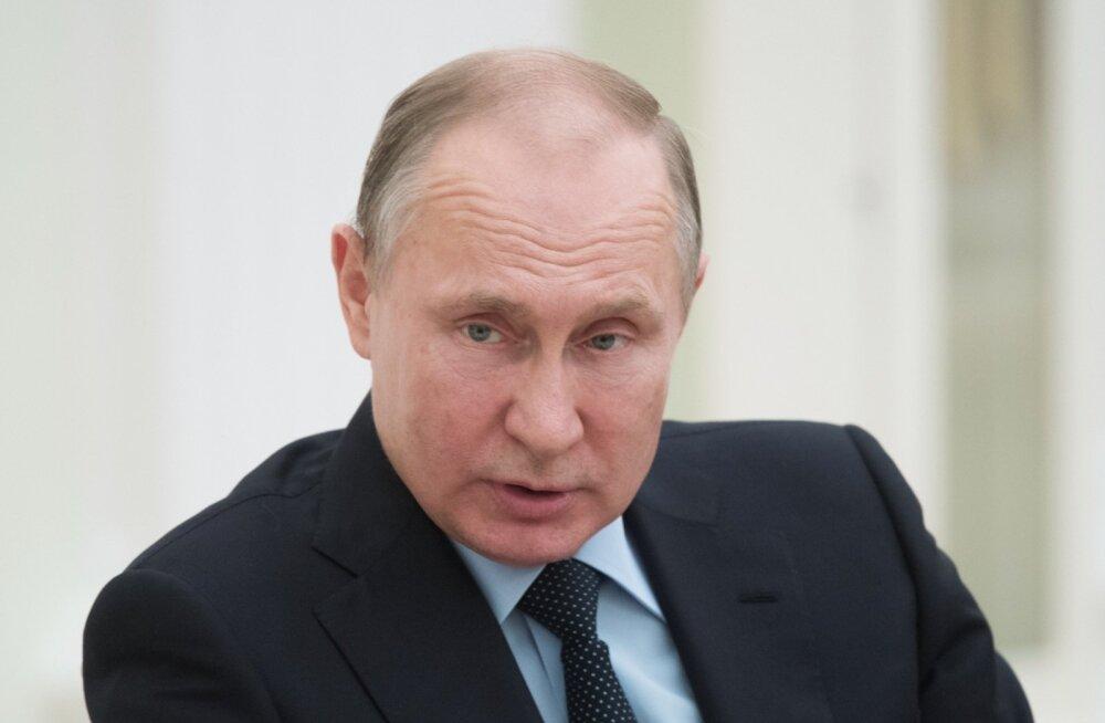 Mitmeid avalikke kohtumisi ära jätnud Putin on Kremli teatel külma saanud