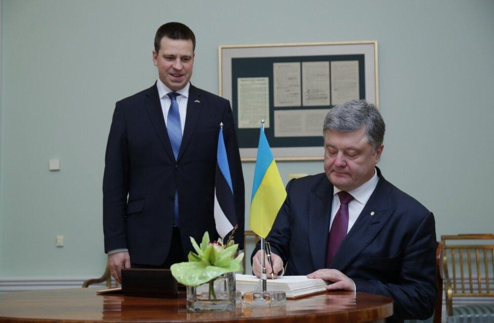Ukraina eemaldas nii Eesti kui Läti kahtlaste riikide nimekirjast. Ratas: mulle kinnitati, et see oli kahetsusväärne juhtum