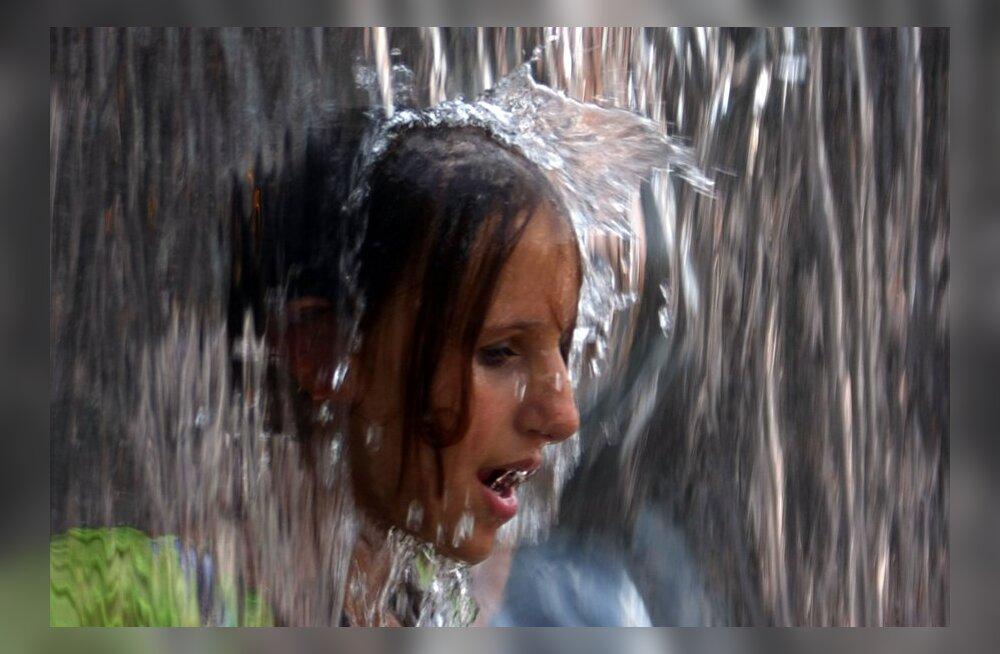 Inimene kulutab 70% vett rohkem kui varem - milline veekasutaja oled sina?