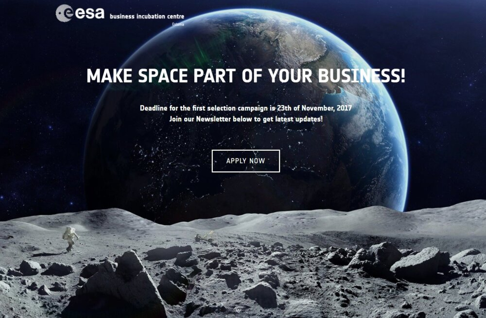 Tähtedevaheline äri ootab: Eesti on tänasest üleeuroopalise kosmosevõrgustiku täieõiguslik liige