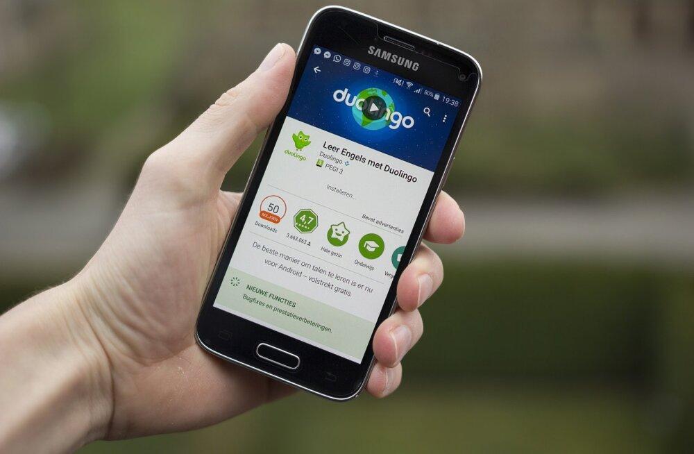 Duolingo on üks populaarsemaid keeleõppe äppe.