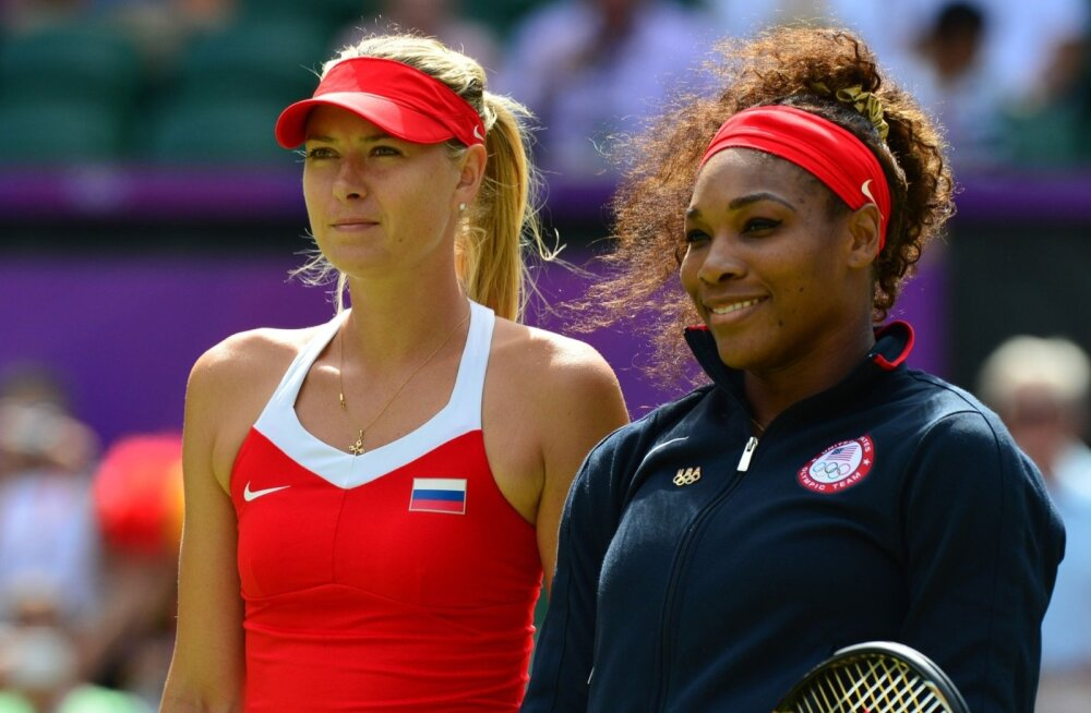 Maria Sharapova  ja Serena Williams