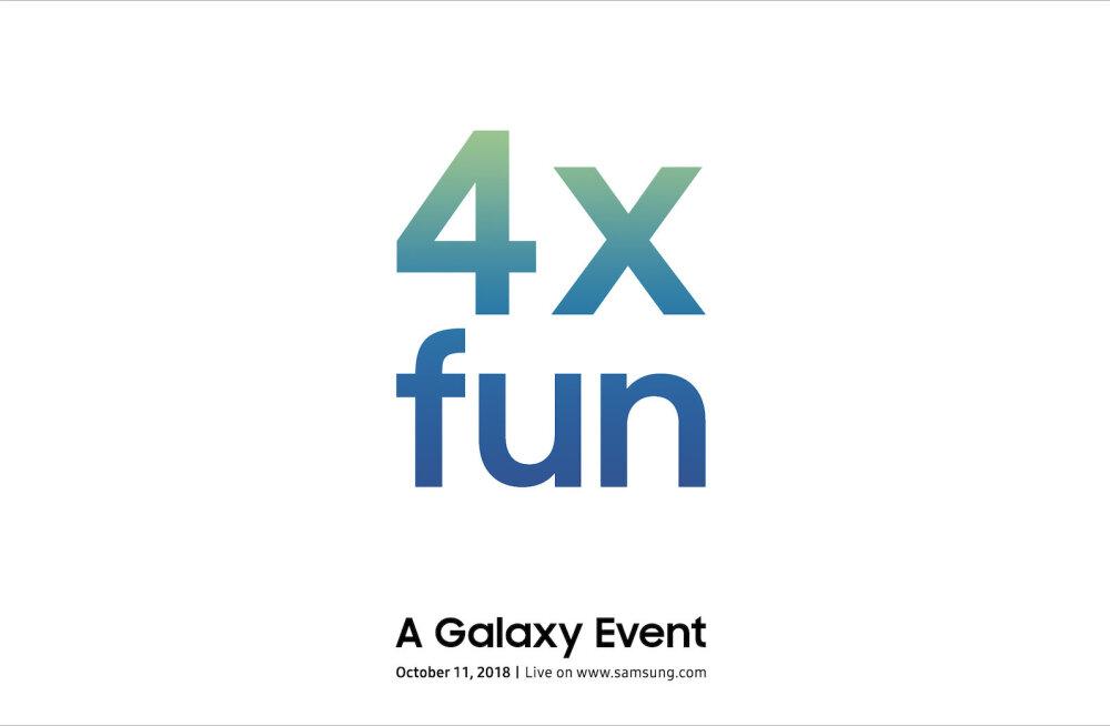 Samsung muudab su elu 11. oktoobril neli korda lustilisemaks