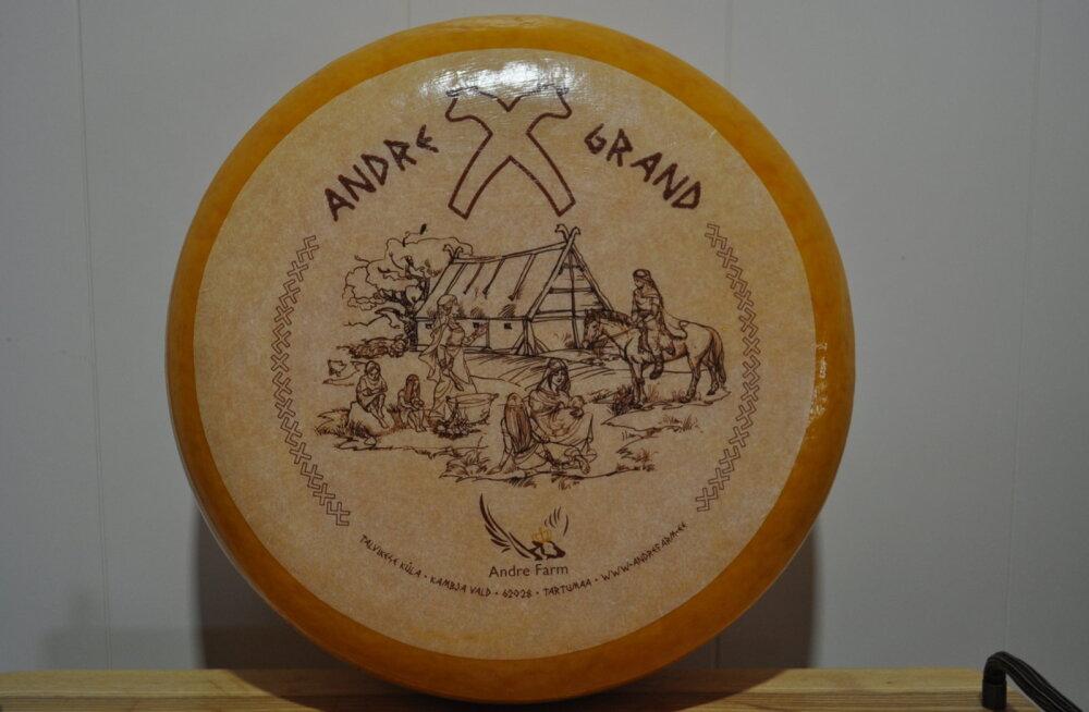 Andre Farmi juustud said rahvusvahelisel konkursil hõbemärgi