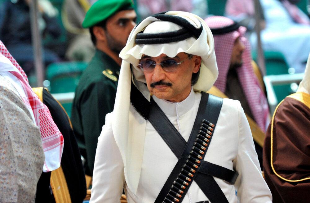 Saudi Araabia prints jäi miljardi võrra vaesemaks