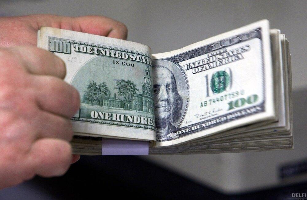 Börs: Trump pani dollari hinna hilisõhtul järsult tõusma
