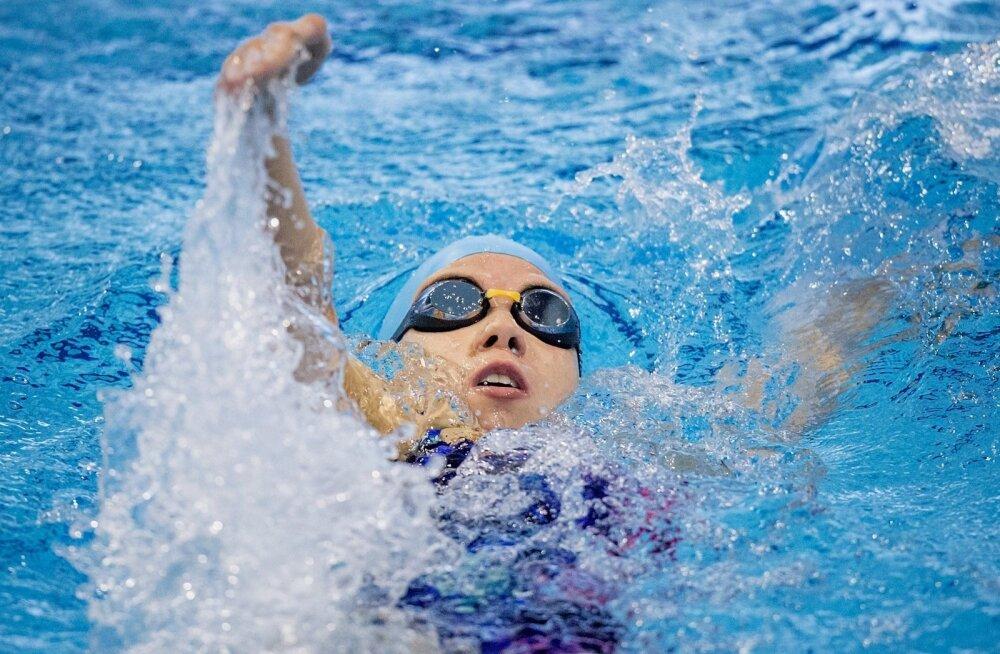Rio paraolümpial Eestist esindav ujuja Brenda Tilk