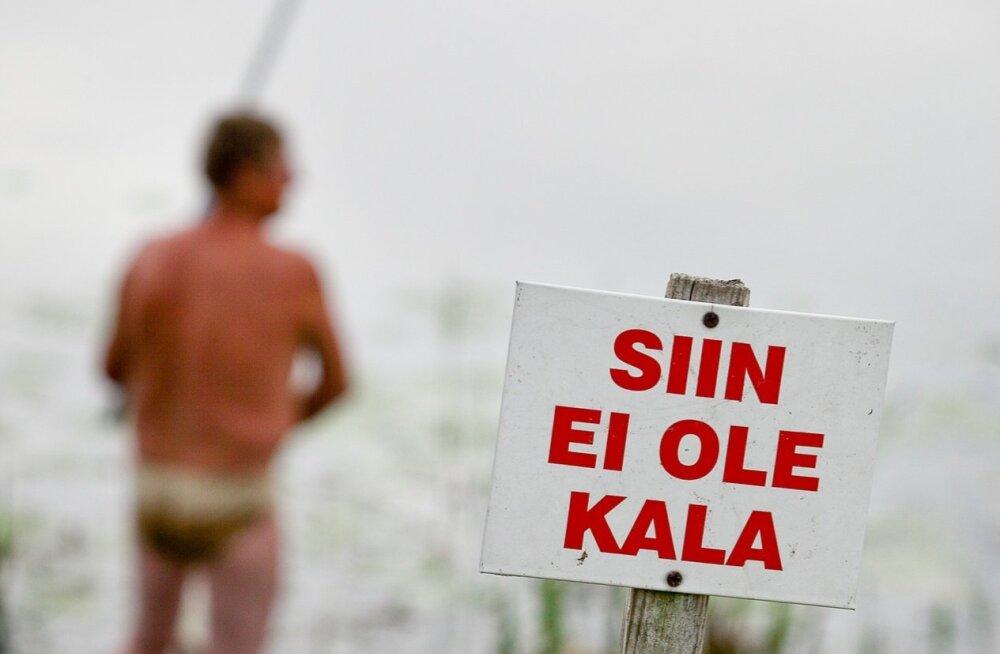 Riigikogu muudab kalapüügireegleid, et ohjeldada lätlastest harrastuspüüdjaid