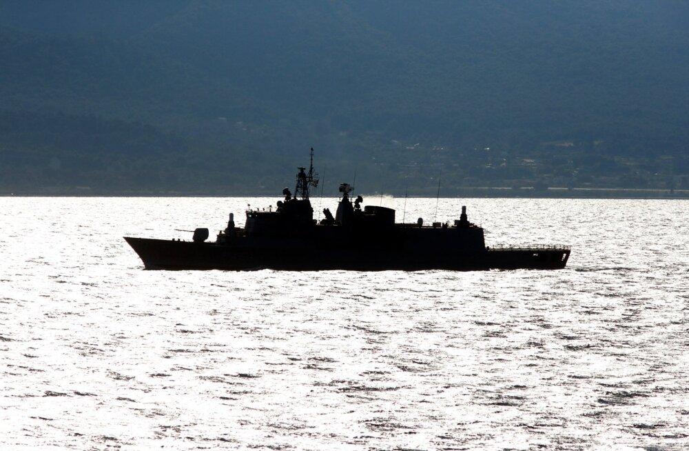 Praegu patrullitakse inimkaubitsejate peatamiseks Türgi ja Kreeka vahel Egeuse merel.