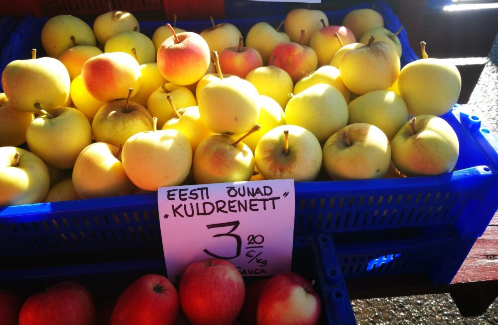 Pilk turule: miks ei võiks õunte juures olla ka piirkond, kus nad kasvatati?