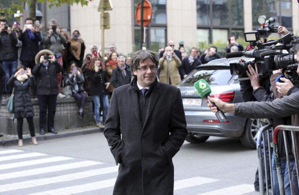 Ametist tagandatud Kataloonia juht andis end Belgia võimudele üles