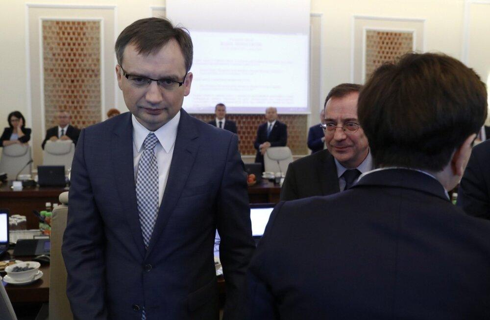 Poola justiitsminister: EL-is hääleõiguse äravõtmise käivitamine toimus poliitika pärast