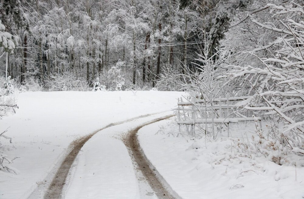 Talv saabus põhja ja kesk SaaremaaleTalv saabus põhja ja kesk Saaremaale