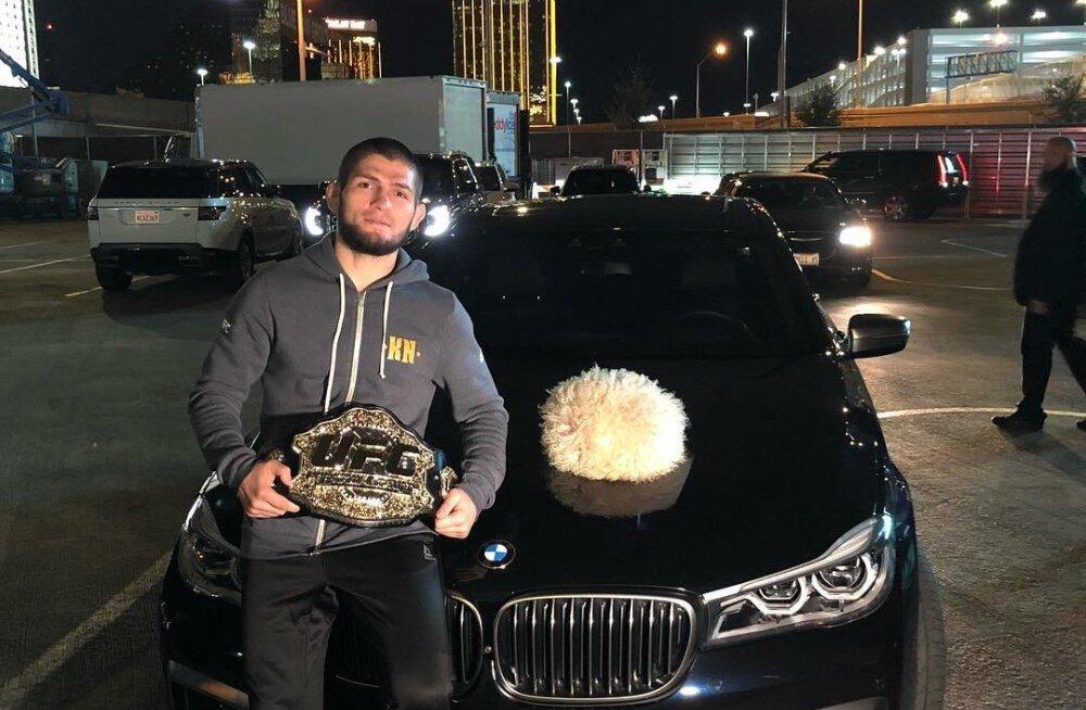 Nurmagomedov UFC presidendile: sul vedas, et ma su autot ära ei lõhkunud