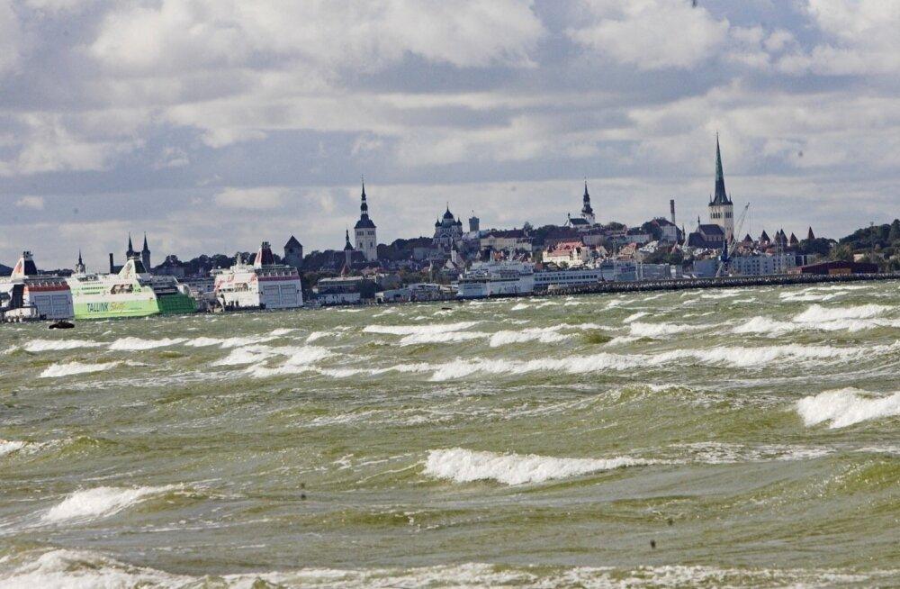 В начале недели Эстонию ждет сильный ветер, а к концу — ночные заморозки