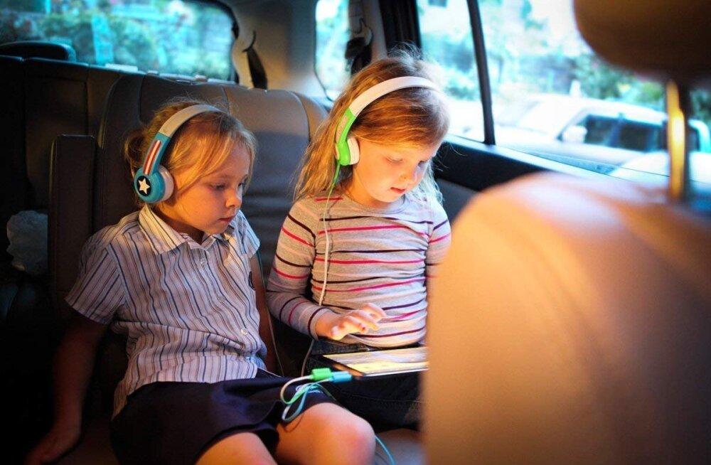 Lastele loodud kõrvaklapid säästavad kuulmist ja vanemate närve
