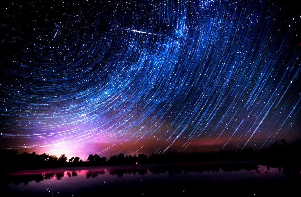 Taevane vaatemäng: sel nädalavahetusel saab näha eredat orioniidide tähesadu