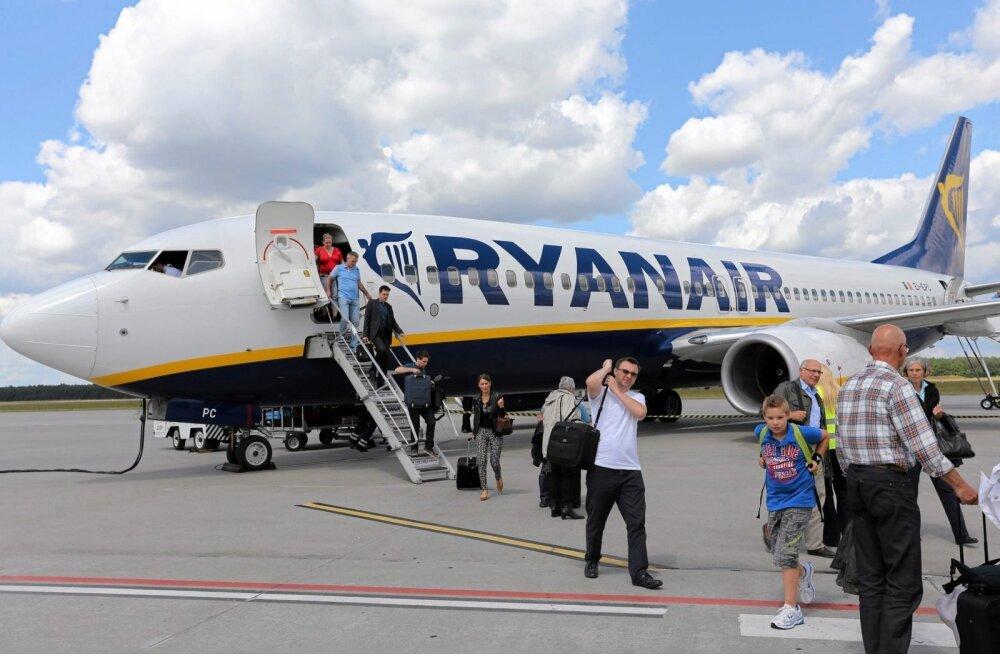 Ryanair muudab pagasireegleid.