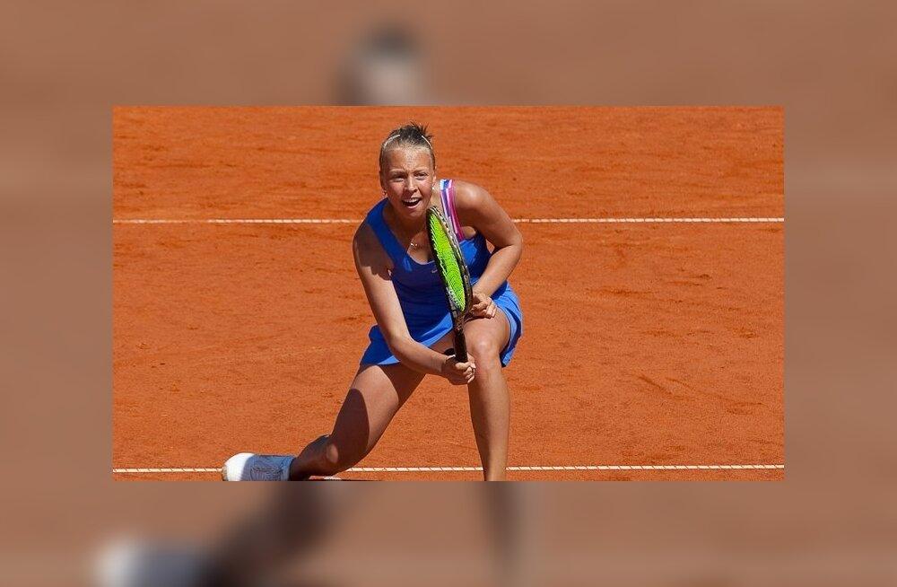 Анетт Контавейт стала чемпионкой Эстонии по теннису