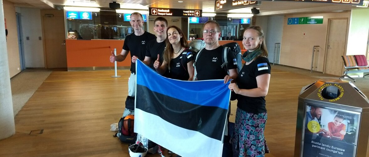VINGE   Eesti alpinistid lähevad vallutama kaht Pamiiri mäetippu!