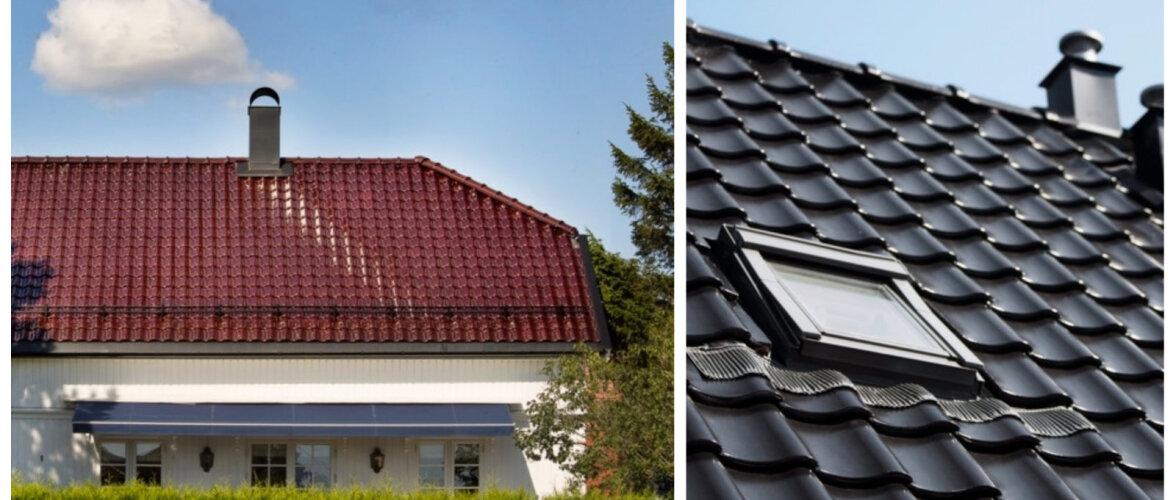 Disainiteadlikud majaomanikud eelistavad savist katusekive