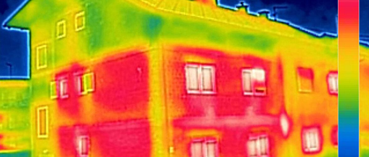 50-60ndate Tartu kortermajadest tehtud termopildid näitavad suuri soojalekkeid