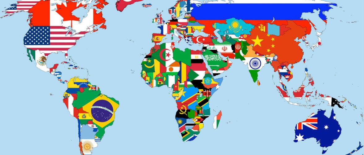 ТЕСТ: Угадайте страну по флагу