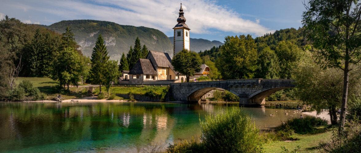Словения разыгрывает бесплатные путешествия для велосипедистов