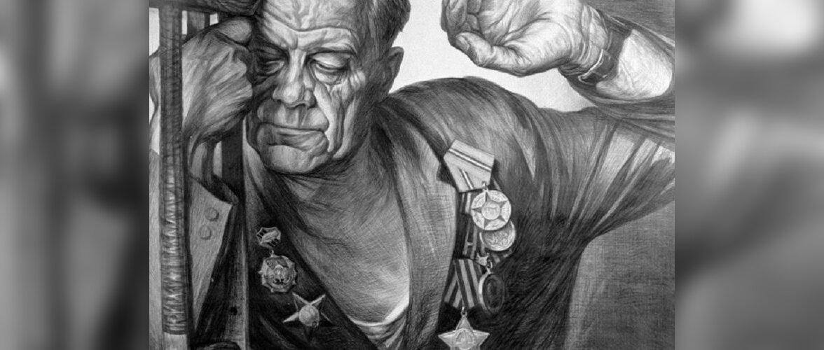 """""""Автографы войны"""": портреты забытых героев, доживавших свой век на острове Валаам"""