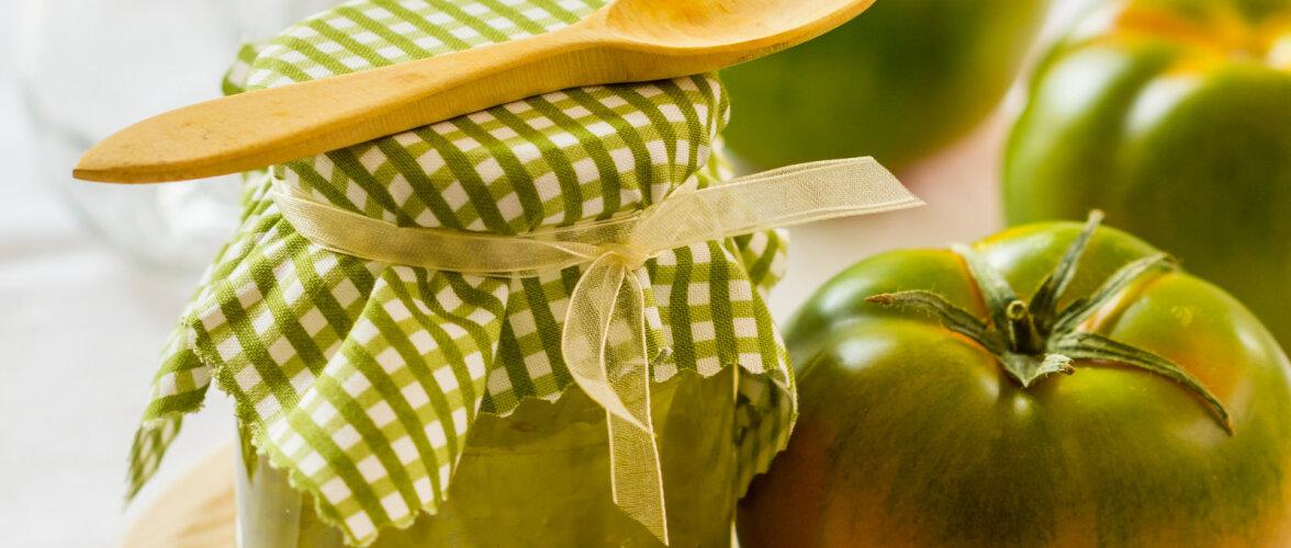 RETSEPTID | Mida valmistada rohelistest tomatitest?