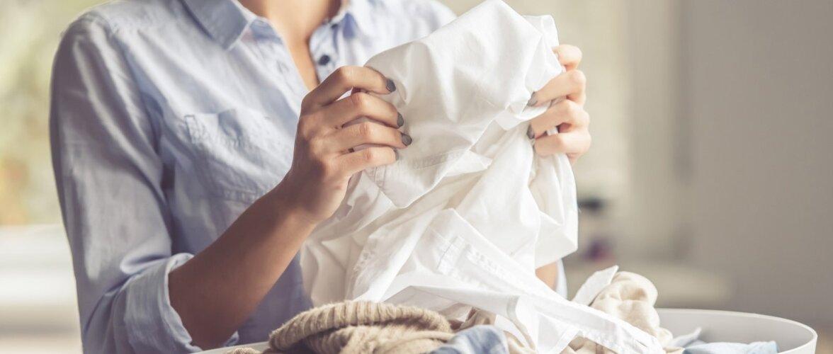 Pesu sorteerimine aitab pesupesemisel aega kokku hoida ja riiete kenamat välimust säilitada.