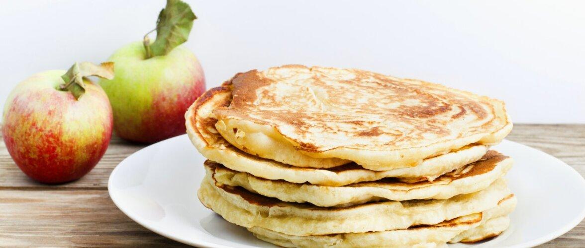 ARVO KOKAKOOL | Memme pannkoogid õuntega