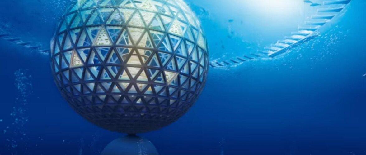 Hullumeelsed arengud! 2030 kolivad inimesed ookeanis asuvasse veealusesse linna!