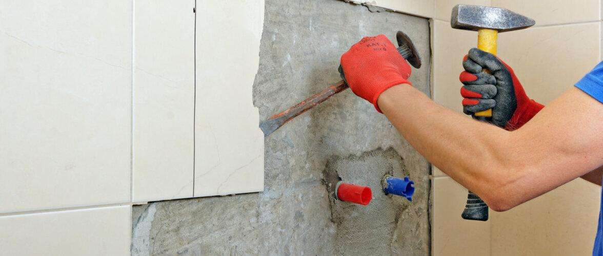 Millised remonditööd saab vannitoas ise ära teha ja milliste jaoks ekspert kutsuda?