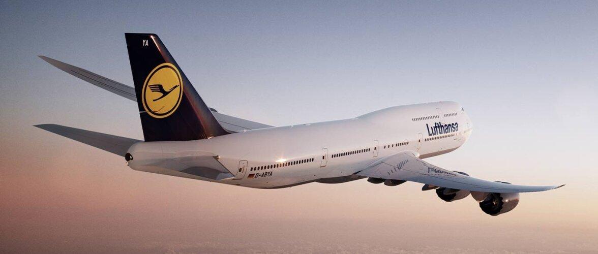 Lufthansa запустила автоматическую регистрацию на рейс