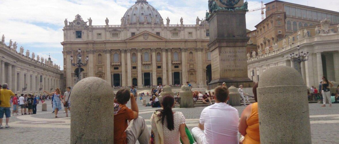 Mõttehetk Vatikanis