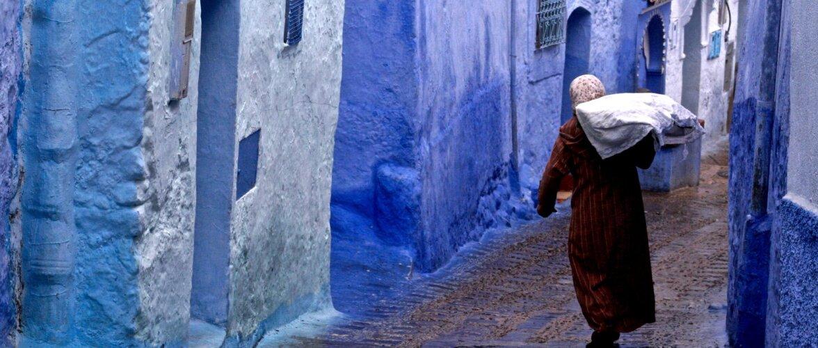 Шавен — голубая жемчужина Марокко