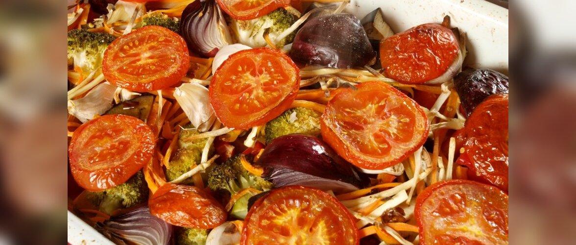 Küpsetatud juurviljad