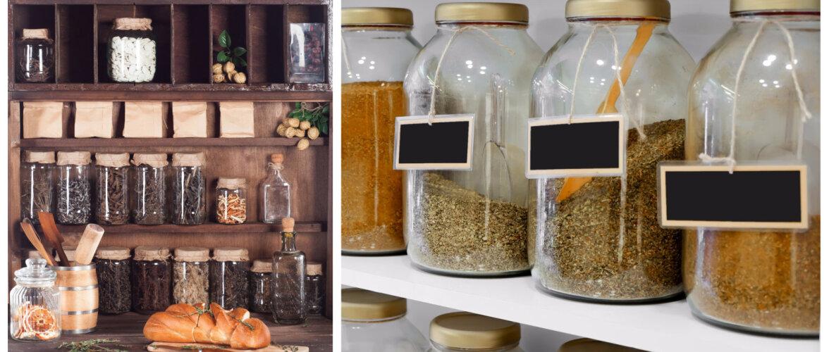 FOTOD │ 10 lahedat viisi, kuidas maitseainepurkidega köögile põnev ilme anda