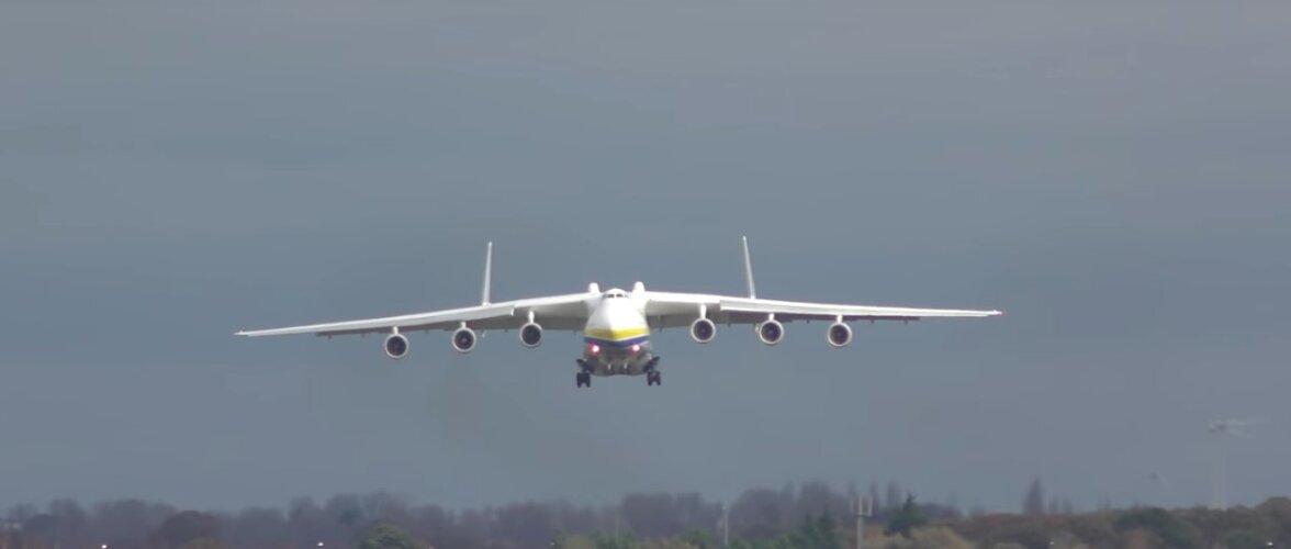 VÕIMAS VIDEO | Vaata, kuidas maailma kõige suurem lennuk Californias maandub!