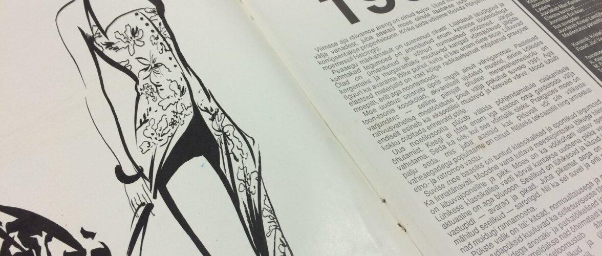 MUUTLIKUD TRENDITUULED: Kes ja mis mõjutas Eesti moeelu 25 aastat tagasi?