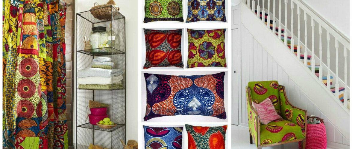 Reisil tärganud armastus värvide ja mustrite vastu tõi Ghana kangad Eesti kodudesse