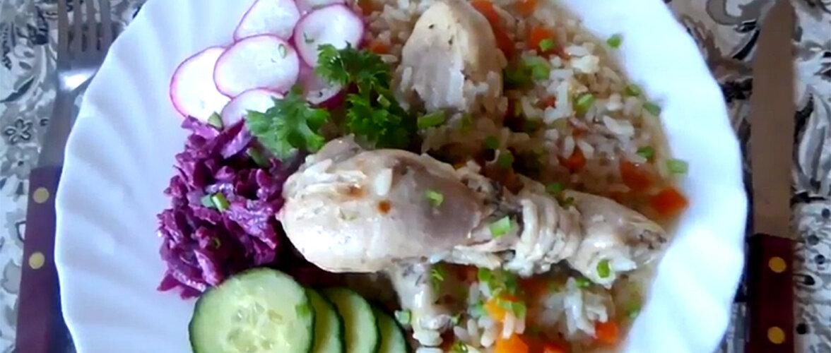 ARVO KOKAKOOL | Valmistame multikeetjas riisiroa ja kana poolkoivad