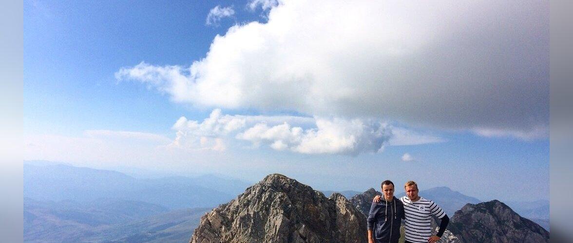 Matk Albaania ja Makedoonia kõrgeima mäe Korabi tippu