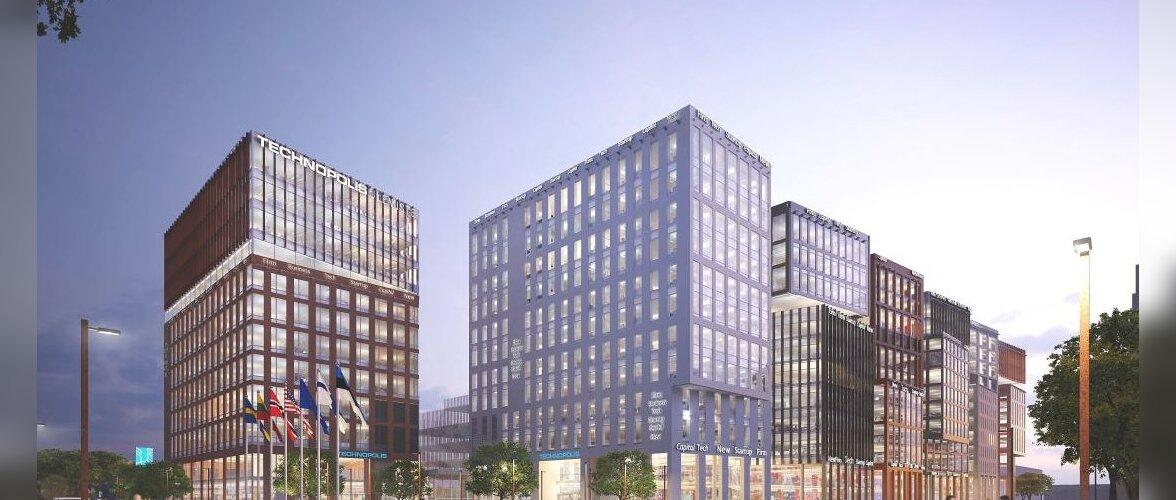 Võimas! Uus arendusetapp toob Ülemiste Citysse juurde seitse uut büroohoonet ja ligi 6500 töökohta