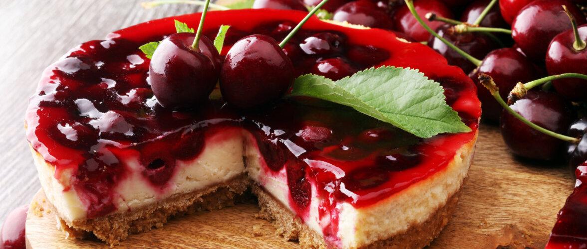 ARVO KOKAKOOL   Pidulik kirsi-juustutort