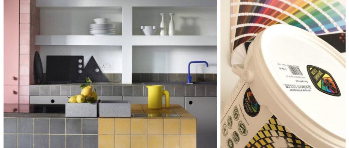 РЕМОНТ И СТРОЙКА │ Новый тренд в плиточном дизайне — цветные швы